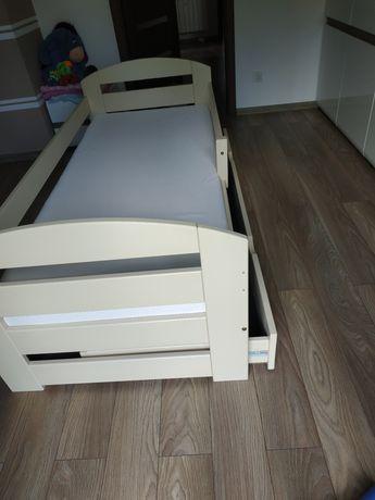 Łóżko dziecięce dla chłopca dziewczynki 180x80 drewniane