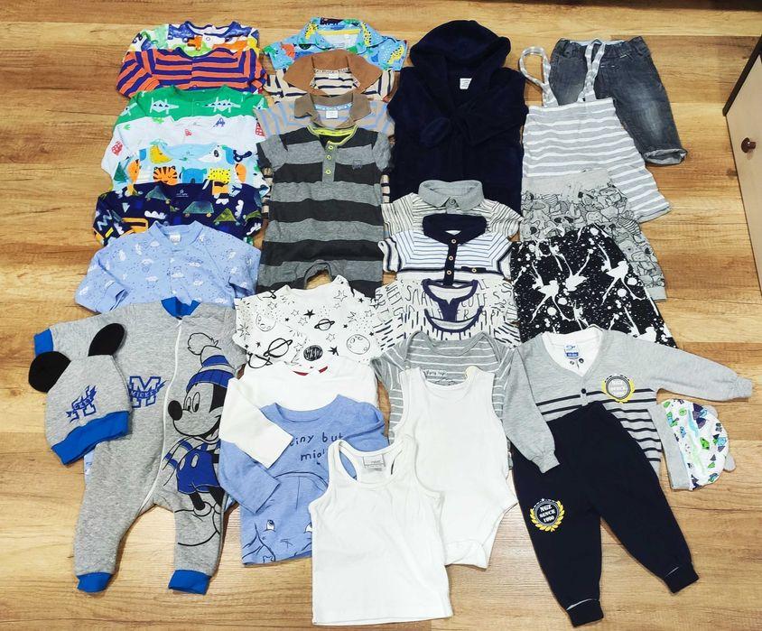 Огромный пакет, комплект, набор брендовой одежды на  3-6 месяцев Мелитополь - изображение 1