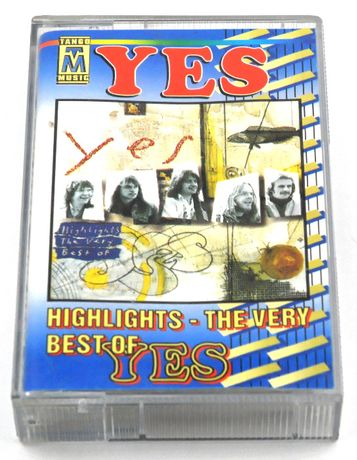 YES - Highlights - The Very Best Of Yes - kaseta audio