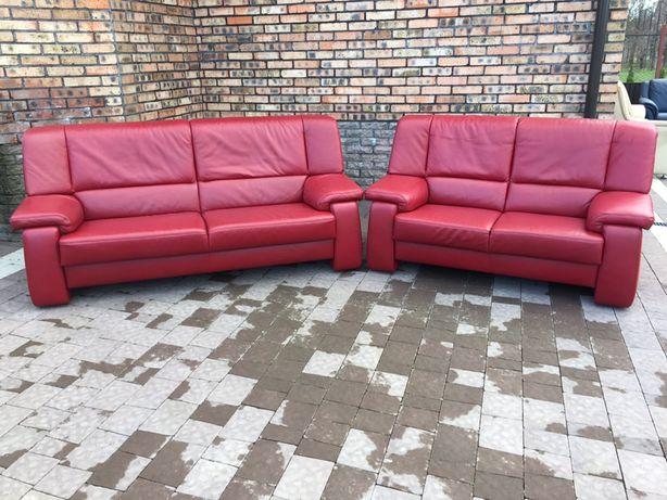 Шкіряні дивани 3+2 з Німеччини HIMOLLA