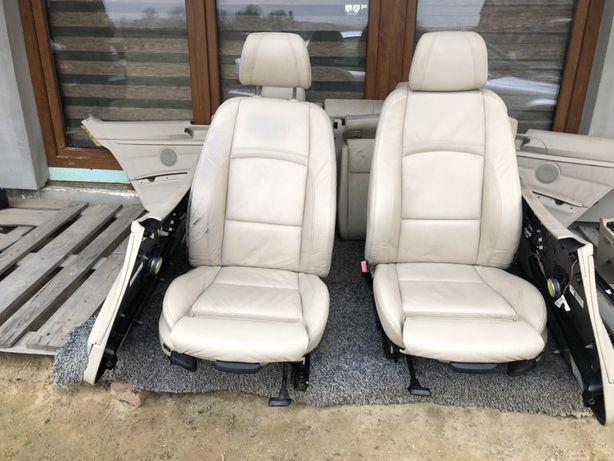 Fotele wnętrze bmw e92 skóra sport