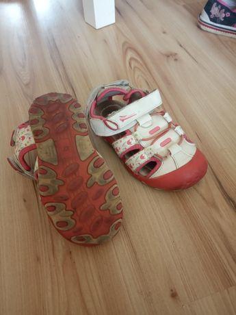 Sandały dla dziewczynki 27