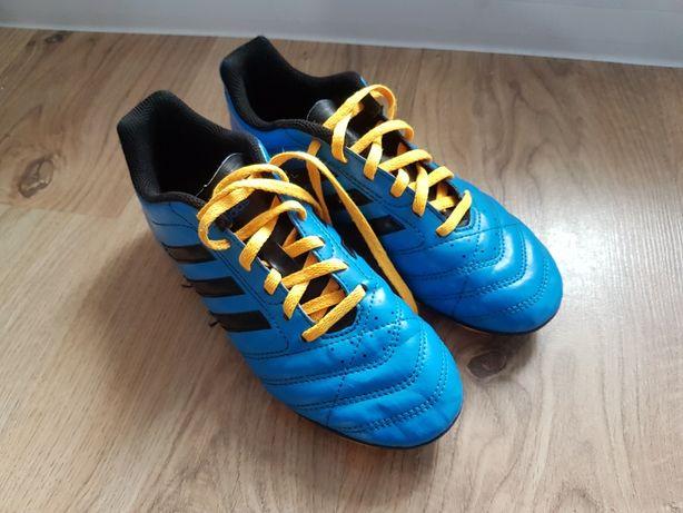 Korki Adidas chłopięce r. 37, 23 cm