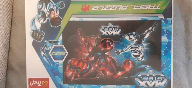 Puzzle Trefl Puzzle MAX STEEL 260 Nowe