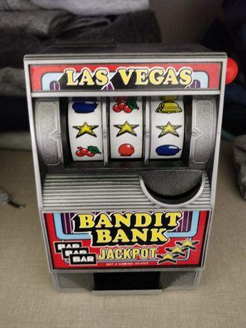 Slot Machine Las Vegas Bandit Bank com mais de 30 anos