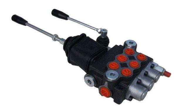 Rozdzielacz hydrauliczny 3 sekcyjny Joystick ładowacz czołowy cyklop