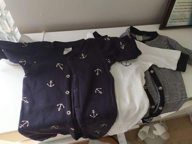 Rampers piżama h&m rozmiar 56