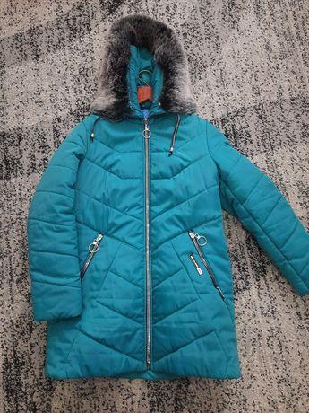 Пальто Батал,пуховик ,зимняя куртка женская! Состояние отличное!