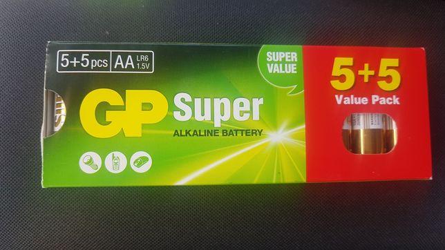 Nowy zestaw bateri  GP Super Alkaline LR6 1,5V