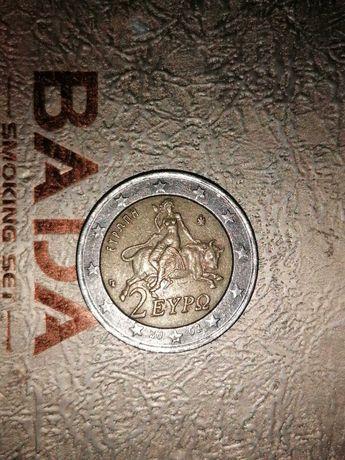Moeda 2 eypo Grécia