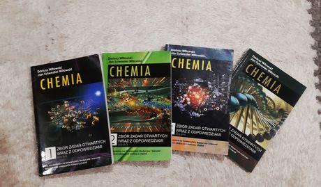 CHEMIA zbiór zadań otwartych wraz z odpowiedziami, tom 1-4, Witowski