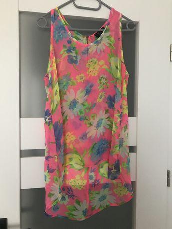 Bluzka letnia rożowa