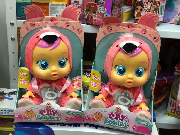 Кукла Плакса Cry Babies Fancy Doll Плачет! Фламинго край бебис Фенси
