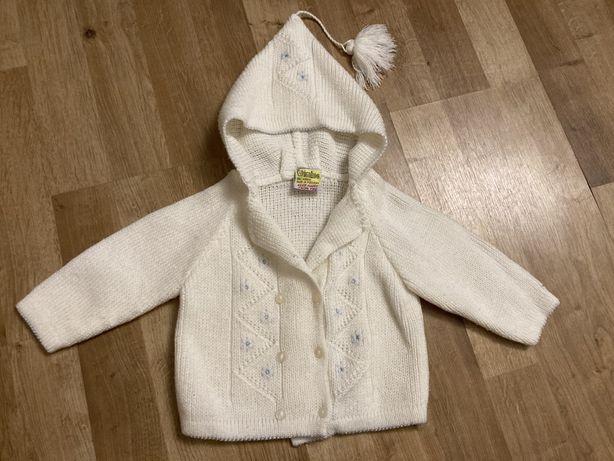 Sweter dziecięcy elegancki na chrzest