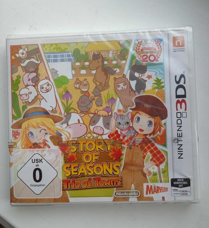 Картридж Nintendo DS story of seasons игра