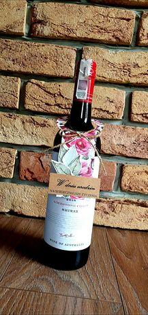 Personalizowana zawieszka na wino różne okazje różne wzory