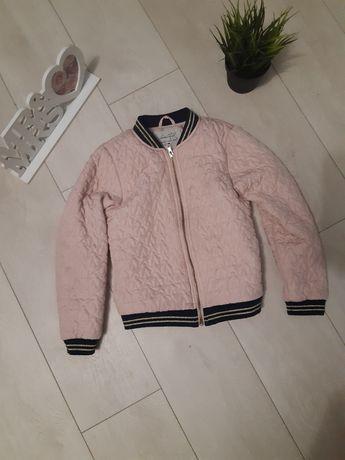 Стеганая курточка на весну 8-9 лет