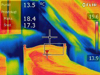 Termowizja - Kamera termowizyjna - Badanie