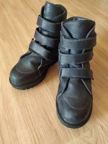 Ортопедические осенне-весенние сапожки, ботинки 33 размер темно синий