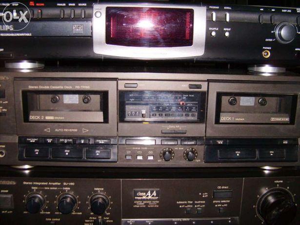 Gravador de cassetes Technics RS - TR 165