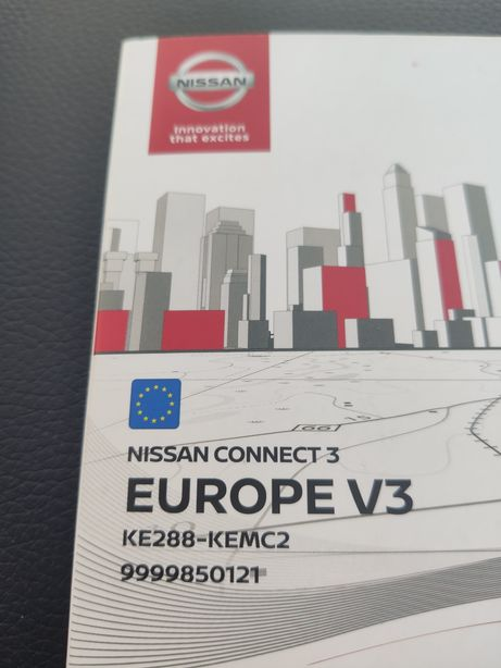 GPS Nissan connect Europa