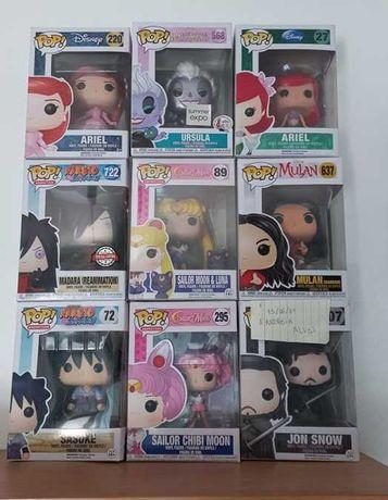 Vendo Pop sailor Moon, Naruto e Disney