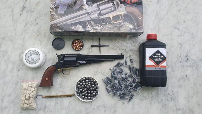 BROŃ PALNA BEZ POZWOLENIA Remington 44 New Army Pietta