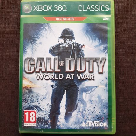 Call od Duty World at War na xbox 360