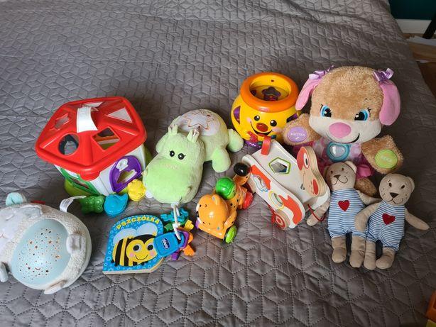 Zestaw zabawek dla małego dziecka