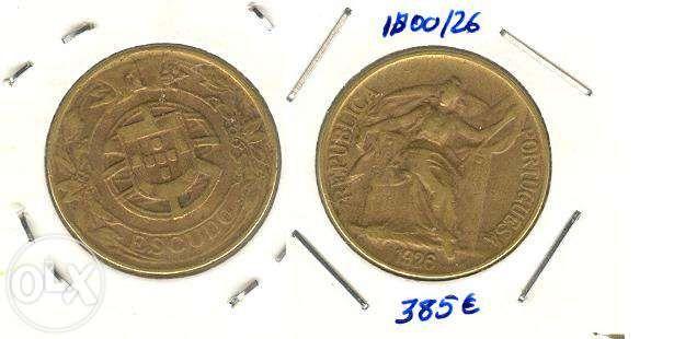 Moeda 1$00/26 - Bronze