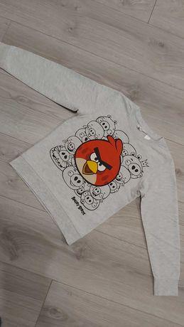 Bluzka Angry Birds H&M roz 122/128
