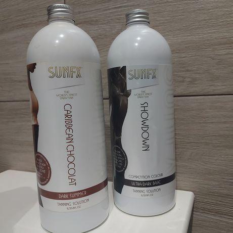 Płyny do opalania natryskowego SunFx