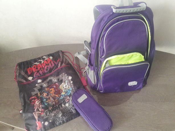 Шкільний рюкзак Kite+пенал+сумка