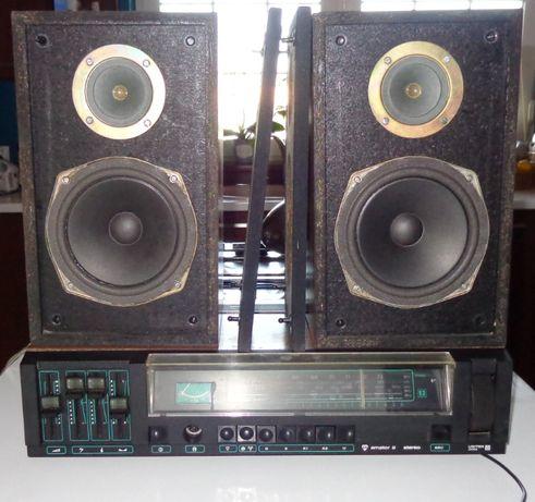 """Radio Amator II Unitra Tonsil """"ZG 15C"""" kolumny głośnikowe"""