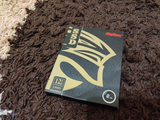 "SSD SATAIII KingSpec 2tb 2.5"" 7mm Новый!"