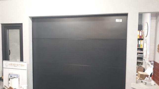 Brama garażowa segmentowa z napędem 1850×2100