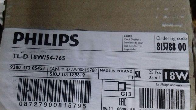 Лампи люмінісценсі нові в упаковці Philips