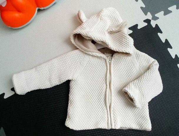 Bardzo ciepły sweter gruby splot 62, H&M
