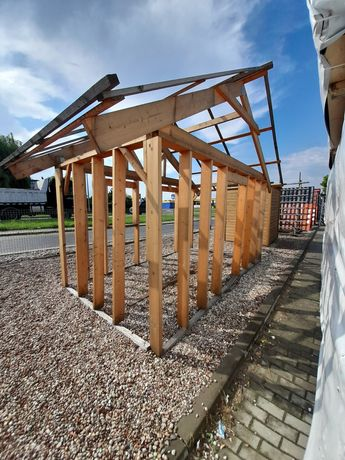 Konstrukcja domku ogrodowego