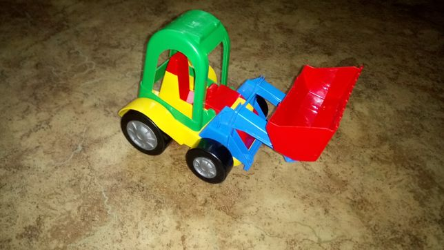 Трактор грейдер погрузчик игрушка iграшки
