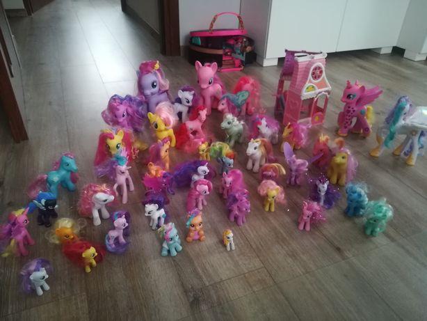 Wielki zestaw koników my little pony orginalne hasbro