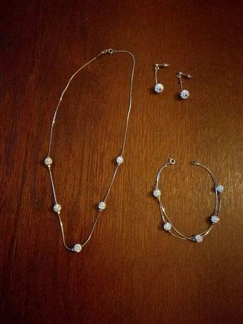 Biżuteria srebrna ślubna