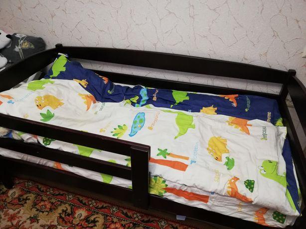 Подрастковая кровать с матрасом 80*160 см