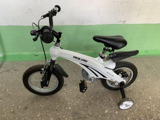 """Велосипед детский Miqilong 12"""" SD White (MQL-SD12-White)"""