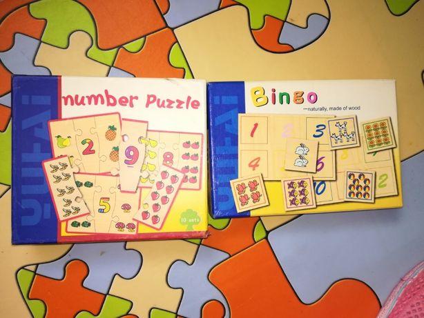 Jogos educativos, lote de 2
