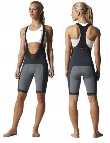 Adidas spodenki rowerowe damskie 2XS