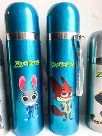 Детский термос zootopia