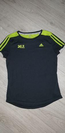 Adidas running koszulka damska fitness siłownia S