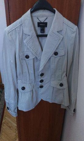 Коттоновый пиджак фирмы MANGO, размер М (EUR-40)