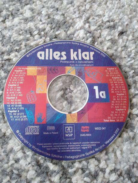 19. Płyta CD Alles Klar 1a nauka niemieckiego niemiecki podręcznik